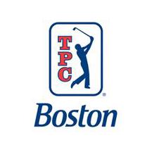 Logo of golf course named Tpc Boston