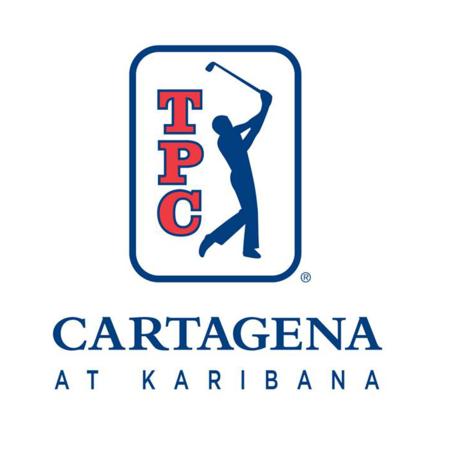 Logo of golf course named TPC Cartagena