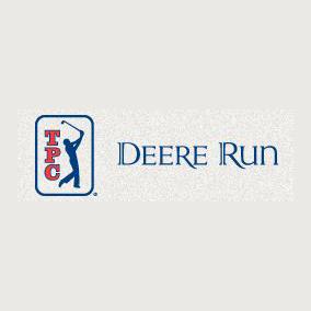 Logo of golf course named Tpc Deere Run