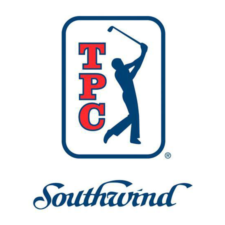Logo of golf course named Tpc Southwind