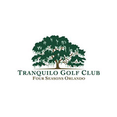 Logo of golf course named Tranquilo Golf Club