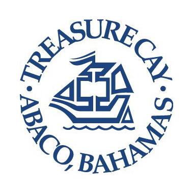 Logo of golf course named Treasure Cay Golf Club