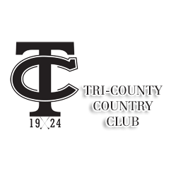 Logo of golf course named Tri County Country Club
