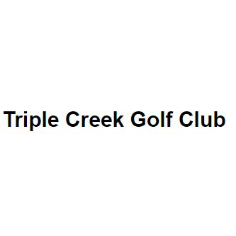 Logo of golf course named Triple Creek Golf Club