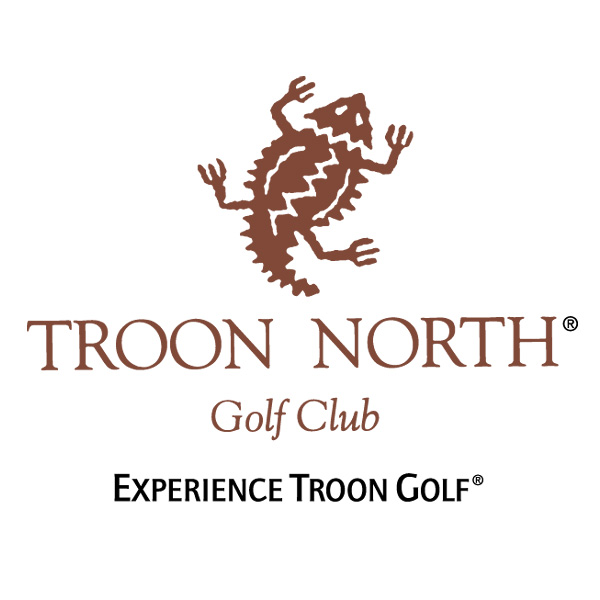 Logo of golf course named Troon North Golf Club - Monument Course