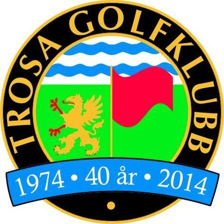 Logo of golf course named Trosa Golfklubb