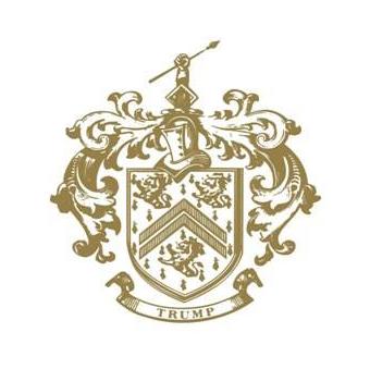 Logo of golf course named Trump International Golf Links Doonbeg