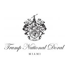 Logo of golf course named Trump National Doral Miami - The Blue Monster