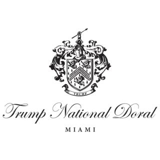 Logo of golf course named Trump National Doral Miami - The Silver Fox