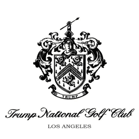 Logo of golf course named Trump National Golf Club - Los Angeles