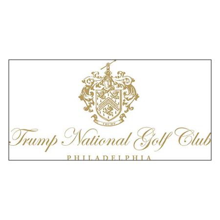 Logo of golf course named Trump National Golf Club - Philadelphia