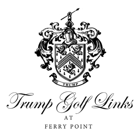 Logo of golf course named Trump National Golf Links - Ferry Point