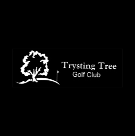 Logo of golf course named Trysting Tree Golf Club