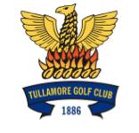 Logo of golf course named Tullamore Golf Club