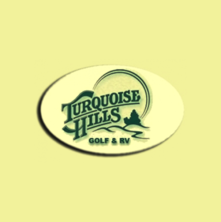 Logo of golf course named Turquoise Hills Family Golf Center