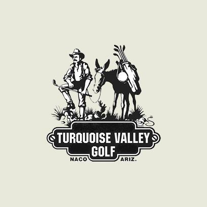 Logo of golf course named Turquoise Valley Golf Course and Rv Park