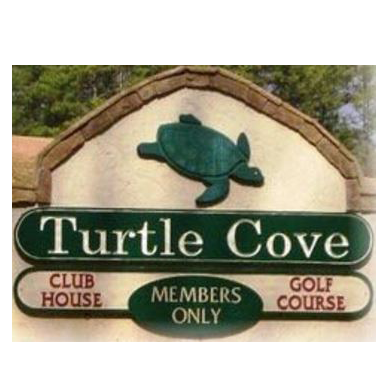 Logo of golf course named Turtle Cove Golf Course