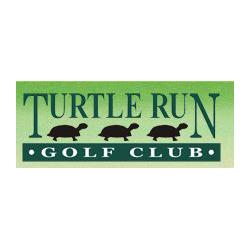 Logo of golf course named Turtle Run Golf Club
