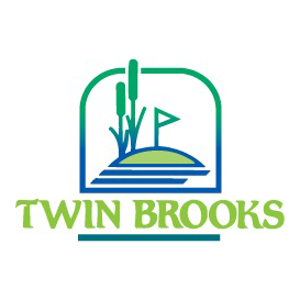 Logo of golf course named Twin Brooks Golf Course