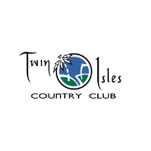 Logo of golf course named Twin Isles Country Club