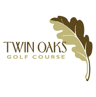 Logo of golf course named Twin Oaks Golf Club