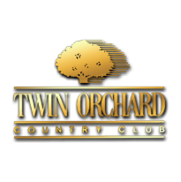 Logo of golf course named Twin Orchard Country Club