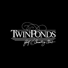 Logo of golf course named Twin Ponds Golf and Country Club