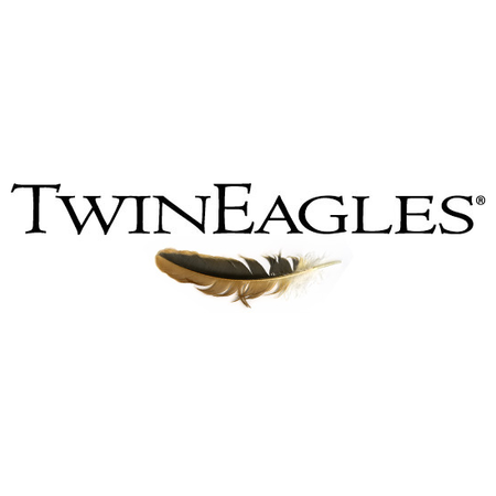 Logo of golf course named Twineagles Golf and Country Club