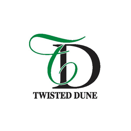 Logo of golf course named Twisted Dune Golf Club