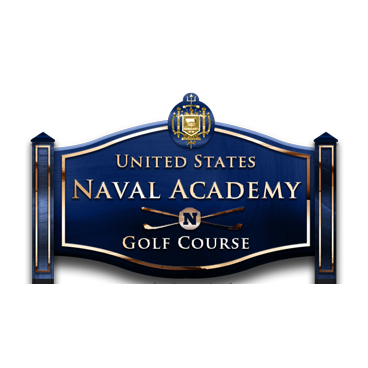 Logo of golf course named United States Naval Academy Golf Club