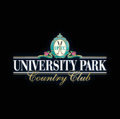 Logo of golf course named University Park Country Club