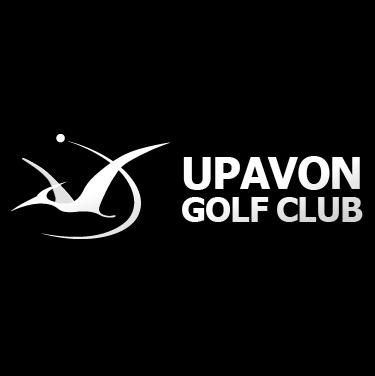 Logo of golf course named Upavon Golf Club