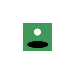 Logo of golf course named Vaerloese Golf Club