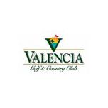 Logo of golf course named Valencia Golf Course