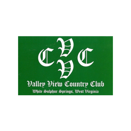 Logo of golf course named Valley View Country Club, Inc.