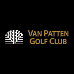 Logo of golf course named Van Patten Golf Club