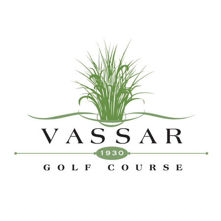 Logo of golf course named Vassar Golf and Country Club