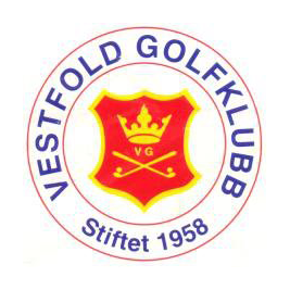 Logo of golf course named Vestfold Golfklubb