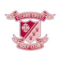 Logo of golf course named Vicars Cross Golf Club