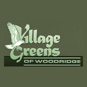 Logo of golf course named Village Greens of Woodridge