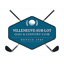 Logo of golf course named Villeneuve Sur Lot Golf and Country Club