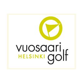 Logo of golf course named Vuosaari Golf Helsinki
