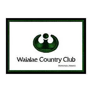 Logo of golf course named Waialae Country Club