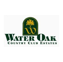 Logo of golf course named Water Oak Country Club Estates