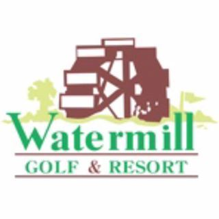 Logo of golf course named Watermill Golf and Gardens