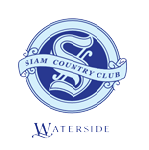 Logo of golf course named Waterside at Siam Country Club Pattaya