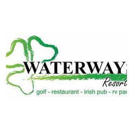 Logo of golf course named Waterways Golf Resort