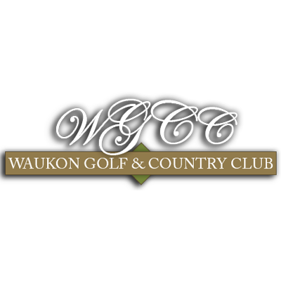 Logo of golf course named Waukon Golf and Country Club