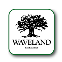 Logo of golf course named Waveland Municipal Golf Course