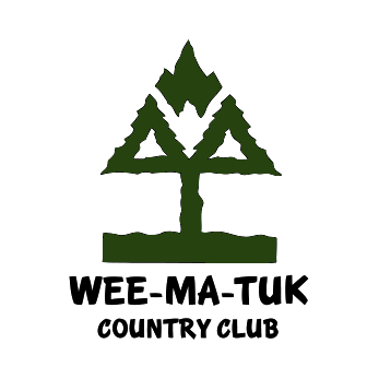 Logo of golf course named Wee-Ma-Tuk Hills Country Club